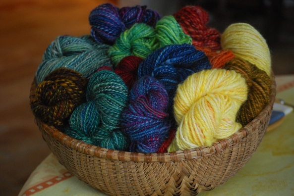 Photo of Denise's yarn