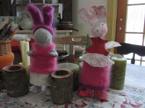 """ Rabbits in the making """